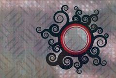 grunge swirly σύσταση Στοκ Φωτογραφία