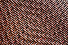 Grunge synthetic rattan weave texture Stock Image