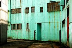 grunge szereg przemysłowe miejskich obrazy royalty free