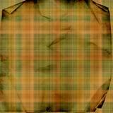 grunge szkocka krata Zdjęcie Stock