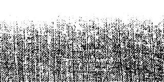 Grunge szorstka halftone tekstura Zmięty burlap kanwa Tekstylny tło używać halftone kropek kreskowego wzór wektor royalty ilustracja