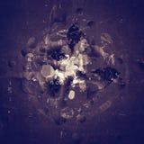 Grunge sztuka textured abstrakcjonistyczny cyfrowy tło Zdjęcia Royalty Free