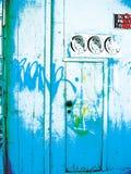 Grunge Tür-Hintergrund Lizenzfreie Stockbilder