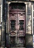 Grunge Tür in Porto Stockfoto