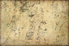 Grunge tła ścienna tekstura pęka plama narysów pył obrazy royalty free
