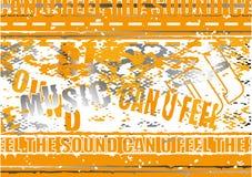 grunge tła pomarańcze Zdjęcia Royalty Free