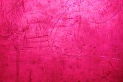 Grunge tła Różowa tekstura - wibrujący barwiony czerwony valentine ` Obraz Royalty Free