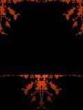 grunge tła ramowego pomarańcze Obrazy Royalty Free