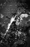 Grunge tła sztuki stylu rocznika Wektorowego Editable stylu Retro Zakłopotana tekstura Wielki projekta elementu tło Dla Obrazy Stock