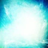Grunge tło, turkusowa piękna niebo tekstura Fotografia Stock