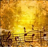 grunge tła melodii tekstury Fotografia Stock