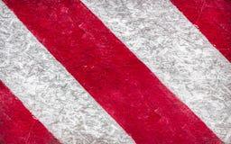 Grunge tło czerwoni i biel lampasy Zdjęcie Stock