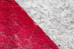 Grunge tło czerwoni i biel lampasy Obrazy Stock