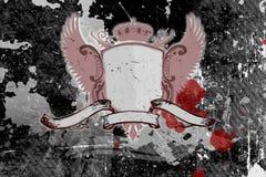 grunge tła shield Zdjęcie Royalty Free