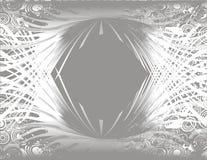 grunge tła srebra Fotografia Stock