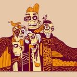 grunge tła wektora Obrazy Royalty Free