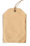 Grunge tag. On white background Stock Photography