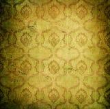 Grunge tappningwallpaper royaltyfri illustrationer