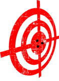 Grunge target Royalty Free Stock Photo