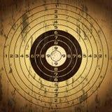 Grunge target Stock Photo