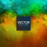 Grunge Teal Vector Background amarillo Imagen de archivo libre de regalías