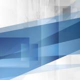 Grunge tech blue design Royalty Free Stock Image