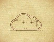 Cloud Blueprint stock images