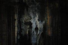 Grunge tekstura, ścienny tło, winieta Obrazy Stock