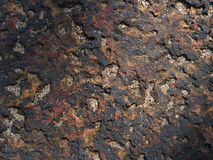Grunge tekstura lateryt kamienna ściana obrazy stock