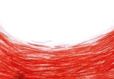 Grunge tekstura, węgla drzewnego tło, czerwona ołówek rama zdjęcia stock