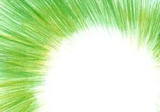 Grunge tekstura, węgla drzewnego tło, zielona ołówek rama zdjęcie royalty free