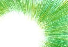 Grunge tekstura, węgla drzewnego tło, zielona ołówek rama obrazy royalty free