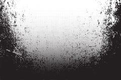 Grunge tekstura z halftone również zwrócić corel ilustracji wektora ilustracja wektor