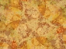 grunge tekstury żółty organicznych Obraz Royalty Free