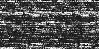 Grunge tekstury bezszwowy wzór wektor Obrazy Royalty Free