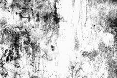 Grunge tekstury czarny i biały Miastowy szablon Miejsce nad jakaś ob Obraz Royalty Free