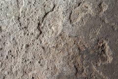 Grunge tekstury kamienna fotografia tło naturalnego kamienia Wietrzejąca rockowa ulga Stara budynek kamienna ściana Zdjęcie Royalty Free