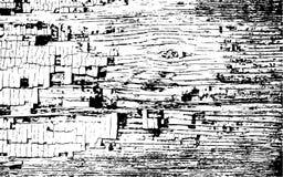 Grunge tekstury Miastowy Wektorowy szablon Zdjęcie Royalty Free