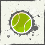 Grunge tennis. Abstract vintage background Royalty Free Stock Image