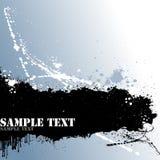 Grunge Text Lizenzfreies Stockbild