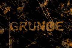 Grunge (Text serie) Stock Image