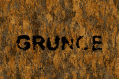 Grunge (Text serie) Royalty Free Stock Images