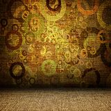 Grunge textile room Stock Photo