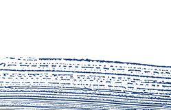 Grunge textur Spår för nödlägeindigoblåttbuse Divin stock illustrationer