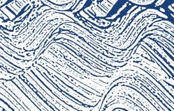 Grunge textur Spår för nödlägeindigoblåttbuse fin bakgrund Smutsig grungetextur för oväsen nätt stock illustrationer