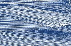 Grunge textur Spår för nödlägeindigoblåttbuse Ovanlig bakgrund Smutsig grungetextur för oväsen ytter royaltyfri illustrationer
