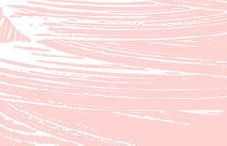 Grunge textur Spår för nödlägerosa färgbuse Fetchin royaltyfri illustrationer