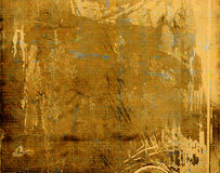Grunge Texture. Golden brown tones nice background texture Royalty Free Stock Image
