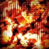 Grunge texture. Bright orange grunge texture background royalty free illustration