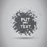 Grunge Texture Background Banner With Copy Space Stock Photo
